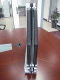 Ventana de desplazamiento de aluminio con el panel fijo superior