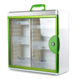 Супер большой цветастый шкаф скорой помощи металла с стеклянной панелью