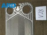 Placa del cambiador de calor de la placa de Vicarb V4 V60 V28