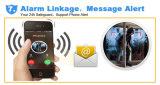 Cámaras de seguridad impermeables elegantes del IP del Wdm 1.0MP WiFi