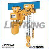 Élévateur à chaînes électrique d'espace libre très réduit approuvé de Liftking 2t de la CE