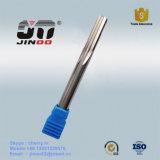 Escariador de flauta recta de carburo de tungsteno HRC55