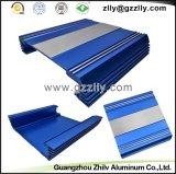 Disipadores de calor azules del perfil de la fundición de aluminio del coche del color