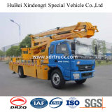 Camion fonctionnant de position d'haute altitude d'antenne de Dongfeng 24m