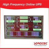 UPS in linea ad alta frequenza di piccola dimensione di 10kVA 9kw 220VAC 192VDC 50Hz con l'invertitore