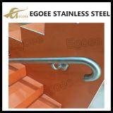 Suporte de corrimão de ângulo de aço inoxidável, suporte de ângulo plano