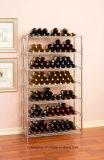 Handelswein-Zahnstange mit 168 Flaschen, die gesetztes grünes Epoxidhaus beiseite legen