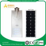 Réverbère extérieur de la haute énergie DEL 60W IP65 Shenzhen tout dans un réverbère d'énergie solaire de DEL