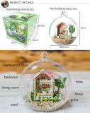 Schönes Puppe-Haus mit Glaskugel-bestem Geburtstag-Geschenk