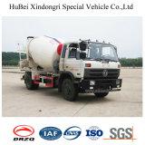 5cbm Dongfeng 유로 4 4X2 구체 믹서 트럭