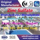 Sulfate de zinc électronique, pente de réactif