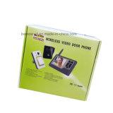 2017 het laatst de Waterdichte Slimme Draadloze VideoTelefoon van de Deur van de Intercom van de Monitor van de Deurbel