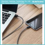 USB trançado de nylon ao cabo cobrando do relâmpago para o iPhone 5/6/7