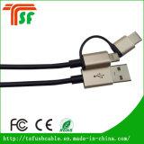 Cabo de venda superior do USB dos acessórios 3in1 do telefone móvel