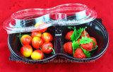 Runder Fruchtsalat-Blasen-Wegwerfkasten