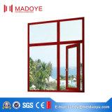 바깥쪽에 최신 판매 알루미늄 독일 기계설비 열려있는 여닫이 창 Windows
