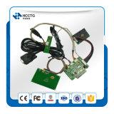 Quiosco elegante del programa de escritura del lector de tarjetas del USB RS232 Msr RFID (HCC-T10-DC3)