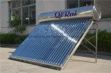 Riscaldatore di acqua solare di alta efficienza dell'acciaio inossidabile con approvazione del Ce