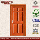 Mdf-Furnier-Blatthölzerne Tür für Balkon (GSP6-016)
