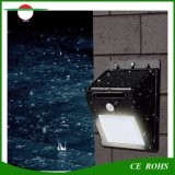 De gespleten Verlichting van de Veiligheid 10LED van de Muur van de Sensor van de Motie van het Gebruik van het Type Binnen Openlucht Lichte met de Buitengewoon lange Koorden van de Uitbreiding voor de Werf van de Tuin