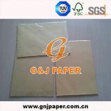 Het Bruine Document van uitstekende kwaliteit van Kraftpapier van de Zak in Blad