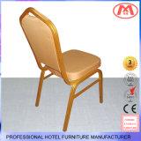Удобный и прочный алюминиевый стул трактира металла с мягким валиком корпии