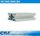 Perfil de aluminio de la No-Deformación con accionado revestido