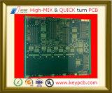 Placa Multilayer do PWB do circuito impresso da eletrônica do PWB do passo da multa de 18 camadas para o cartão-matriz industrial