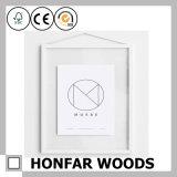 Inner-Form-goldener hölzerner Abbildung-Foto-Rahmen für Hotel-Dekoration