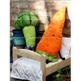 Juguete suave relleno bróculi lindo