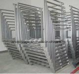 Estante resistente de la pila con la paleta de postes movible