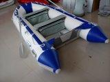 Tender (3.6m, plancher en aluminium, couleur blanche et bleue)