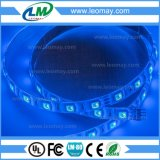 3 luz de tira flexible de interior colorida de las virutas SMD 5050 RGB Epistar LED