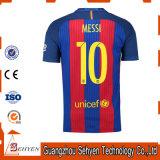 O futebol da juventude Uniforme-Ajustou o futebol para a camisola do futebol de Brasil dos miúdos