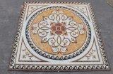 azulejo de cerámica cristalino de oro de la alfombra de 1200X1200m m con la luz fluorescente
