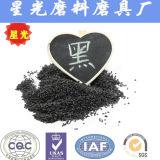 Medias noirs en aluminium de souffle de sable d'oxyde en gros de la Chine