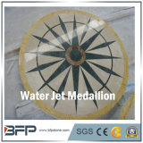 De goedkope Medaillons van de Vloer van de Tegel van de Straal van het Water van het Ontwerp van de Bloem Marmeren van China