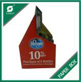 Caja de color de la botella de cartón de papel de encargo de la cerveza