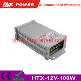 12V-100W 일정한 전압 알루미늄 쉘 방수 LED 전력 공급