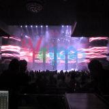 Pantalla de visualización a todo color de interior de LED del alquiler P4