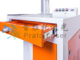 Machine chaude d'inscription de laser de fibre de pièces en métal de vente