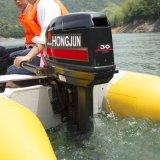 4 elektrisches Anfangsaußenbordmotor des Anfall-25HP