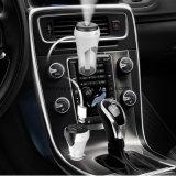Carregador duplo do carro do USB com o líquido de limpeza de ar in-Car do humidificador