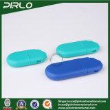 os frascos de perfume plásticos da cor da cerceta de 10ml 15ml 20ml esvaziam atomizadores baratos do Sanitizer da mão do cartão de crédito