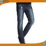 工場OEMの人の方法細いデニムのジーンズの基本的な伸張のジーンズ