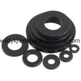 Arranque de nylon de borracha preta DIN 125 Black