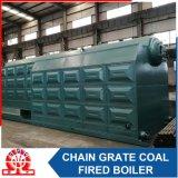 産業Szl25-1.6MPaの二重ドラム水平のチェーン火格子の蒸気ボイラ