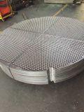 a câmara de ar fazendo à máquina das placas de sustentação dos defletores das folhas de câmara de ar do cambista de calor da perfuração do CNC do aço de carbono SA36 SS41 chapeia Tubesheets
