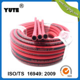 Yute tissu résistant de l'ozone de 1/8 pouce a couvert les tuyaux d'air en caoutchouc