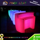 LED 바를 바꾸는 현대 바 가구 플라스틱 둥근 색깔